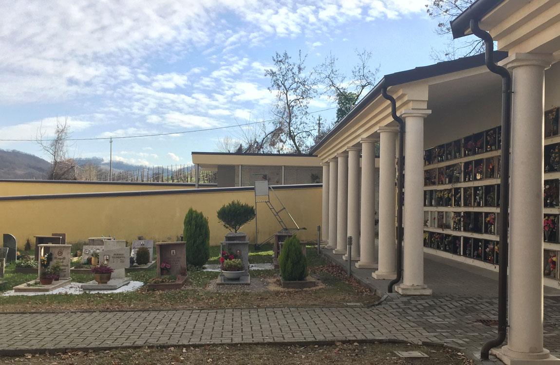 Cimiteri di Vezzano S.C. e San Ruffino